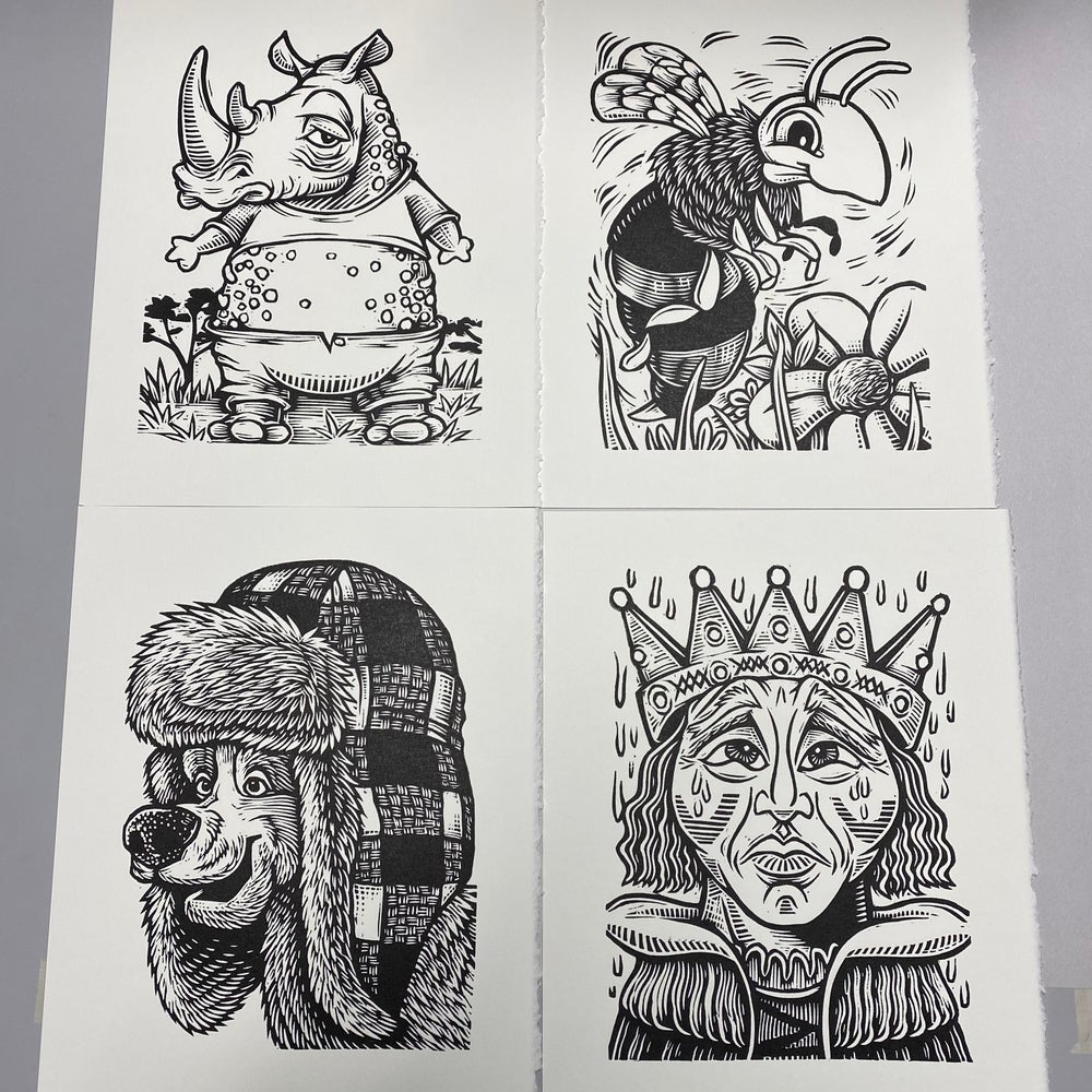 Nooshtober prints