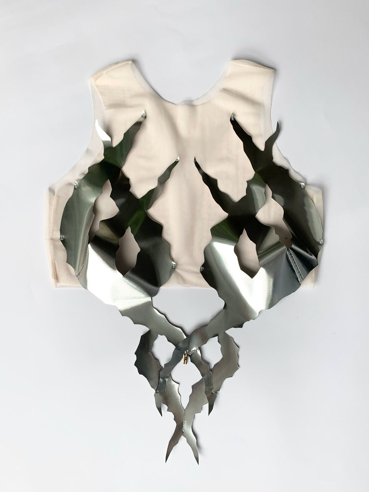 Image of Ungeziefer' silver tentacle top