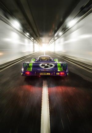 """Image of Porsche 917LH """"Hippie"""" Print 2"""