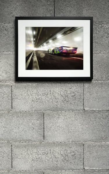 """Image of Porsche 917LH """"Hippie"""" Print 3"""