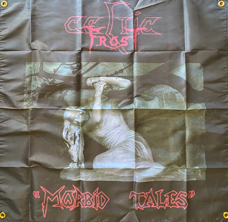 """Image of Celtic Frost """" Morbid Tales""""   Banner / Flag / Tapestry"""