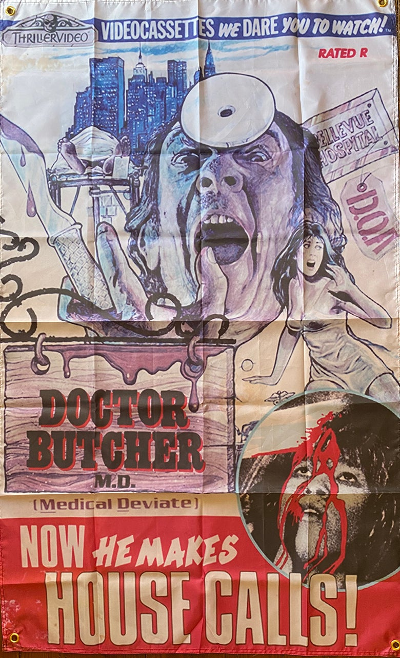 Image of Dr Butcher MD - Flag / Banner / Tapestry