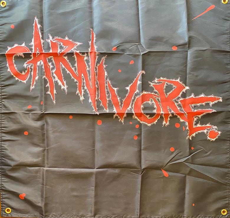 "Image of Carnivore""  1st album ""   - Banner / Tapestry / Flag"