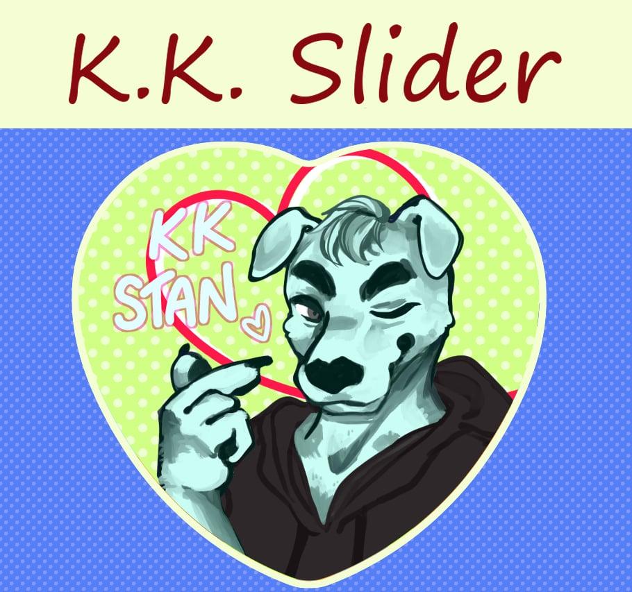 K.K. Slider Heart Button