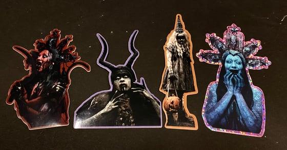 Image of Halloween sticker pack