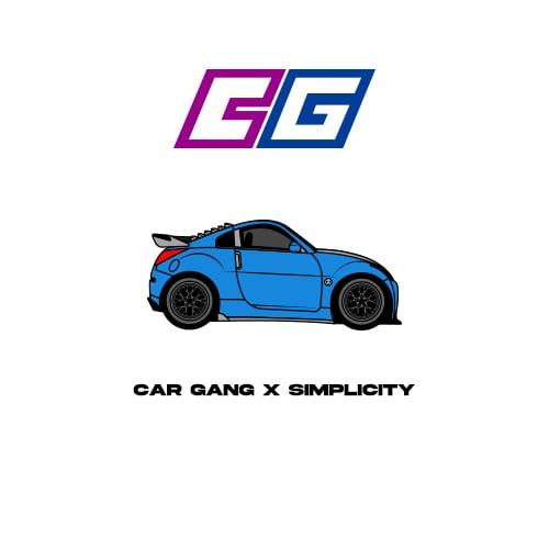 Image of Car Gang x simplicity pin
