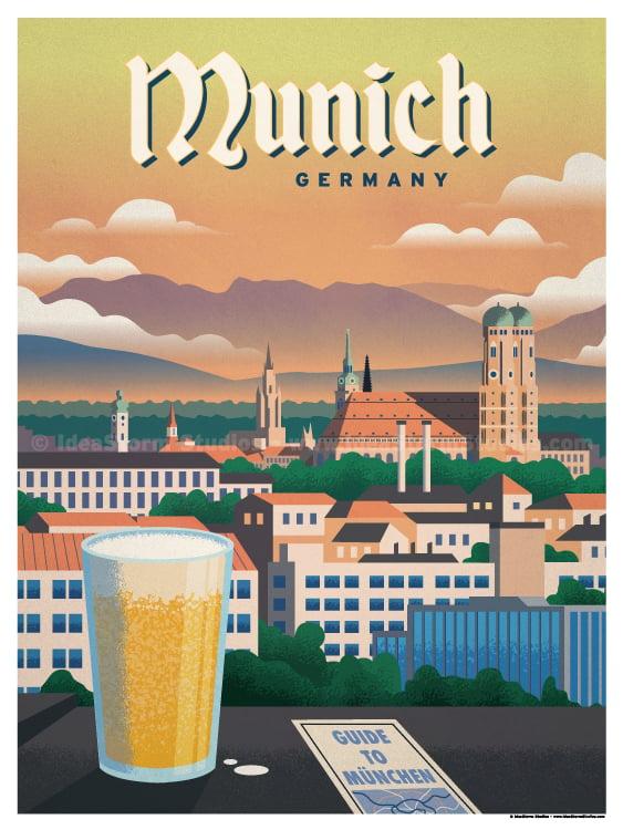 Image of Munich Poster