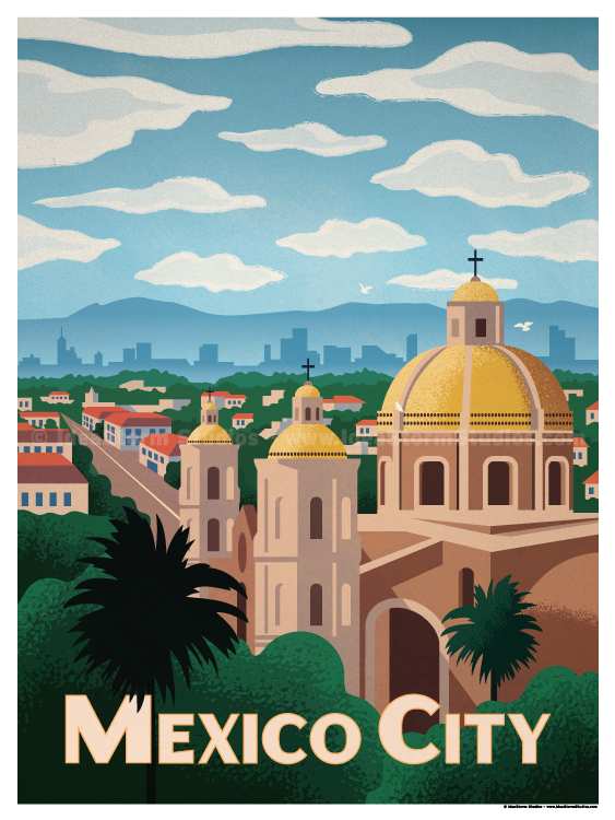 Image of Mexico City Poster