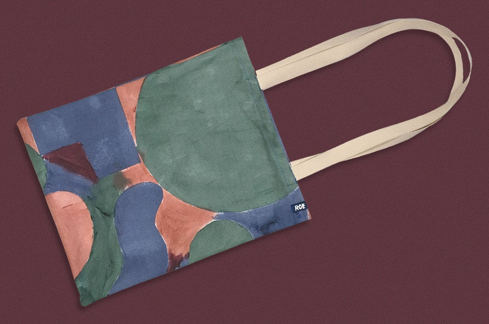 Image of PAINTED BAG