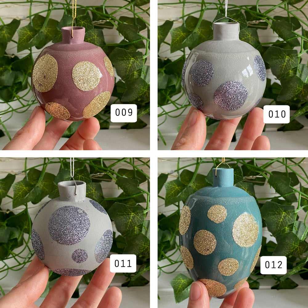 Image of Glitter Baubles