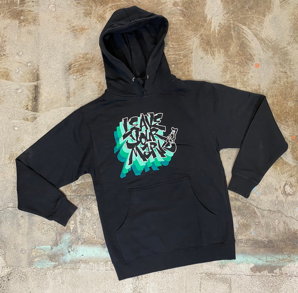 "Leave Your Mark ""Triple Drop"" Black Hoodie"