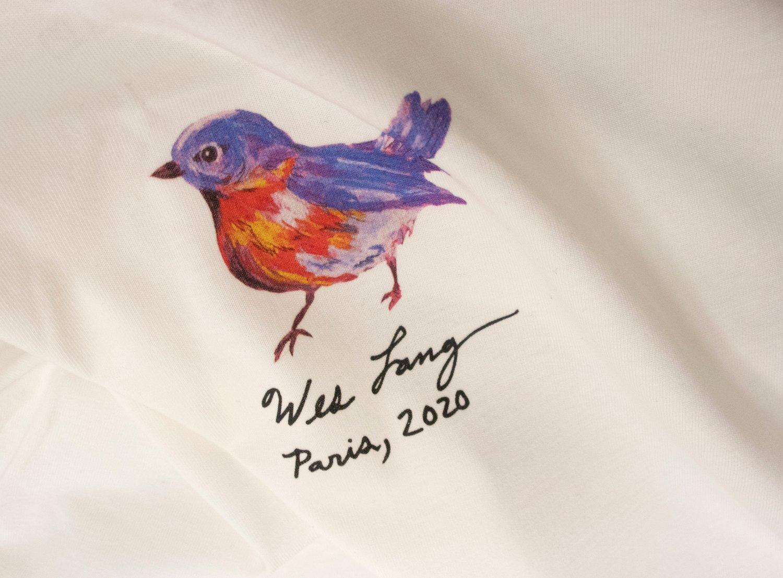 Image of Wes Lang - T-Shirt / 100 € - 20 % = 80 €