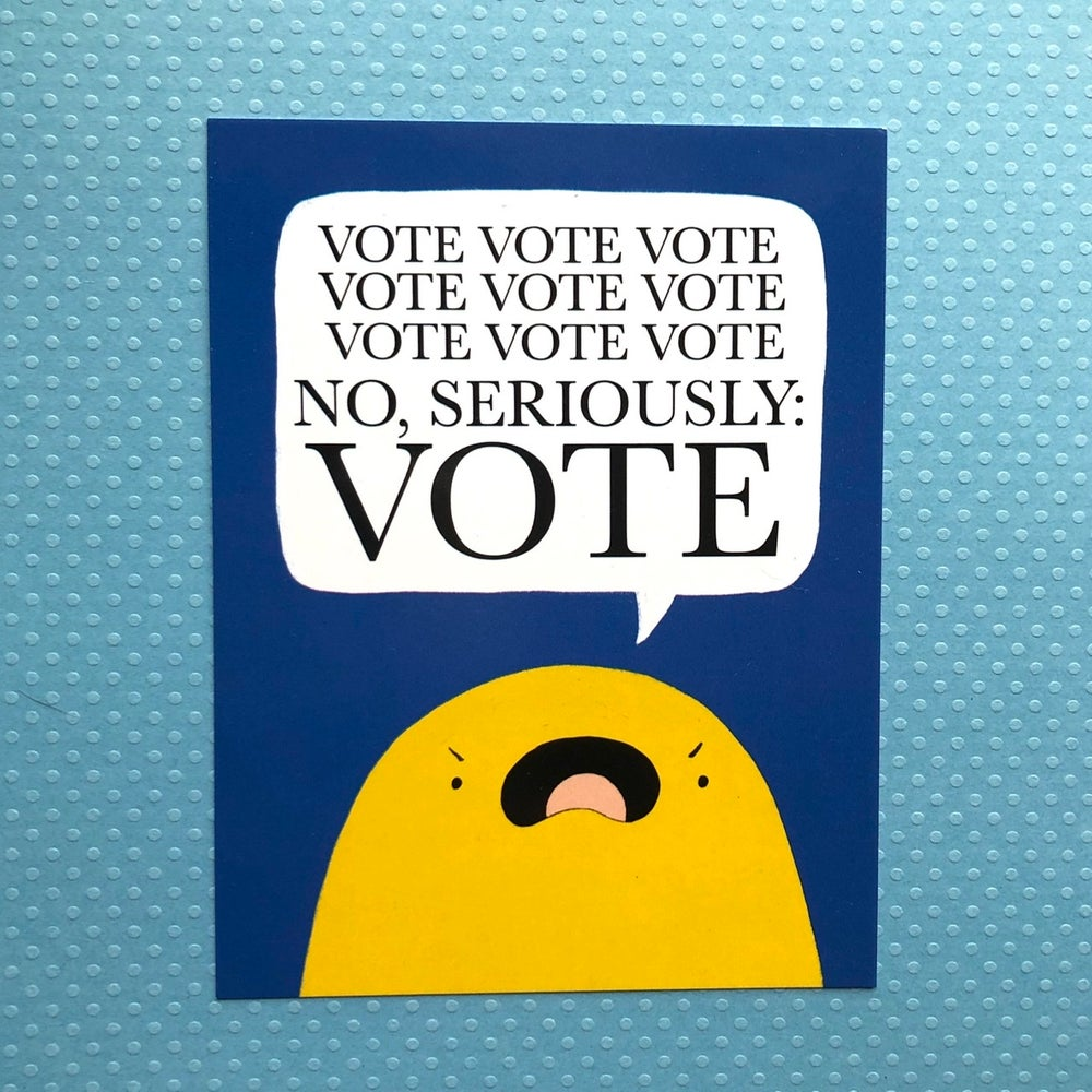 Image of VOTE VOTE VOTE postcards