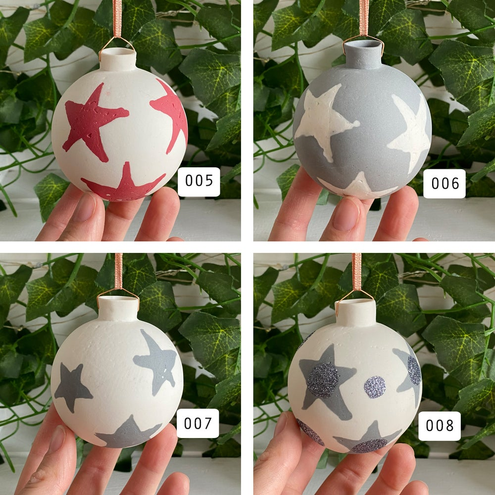 Image of Star Baubles