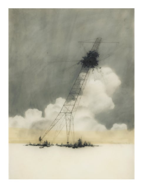 Image of RECLAIMED TIPPING TOWER LIMITED EDITION PRINT
