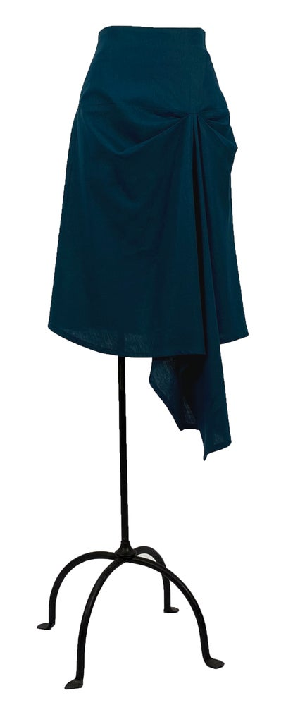Image of Ronen skirt in teal