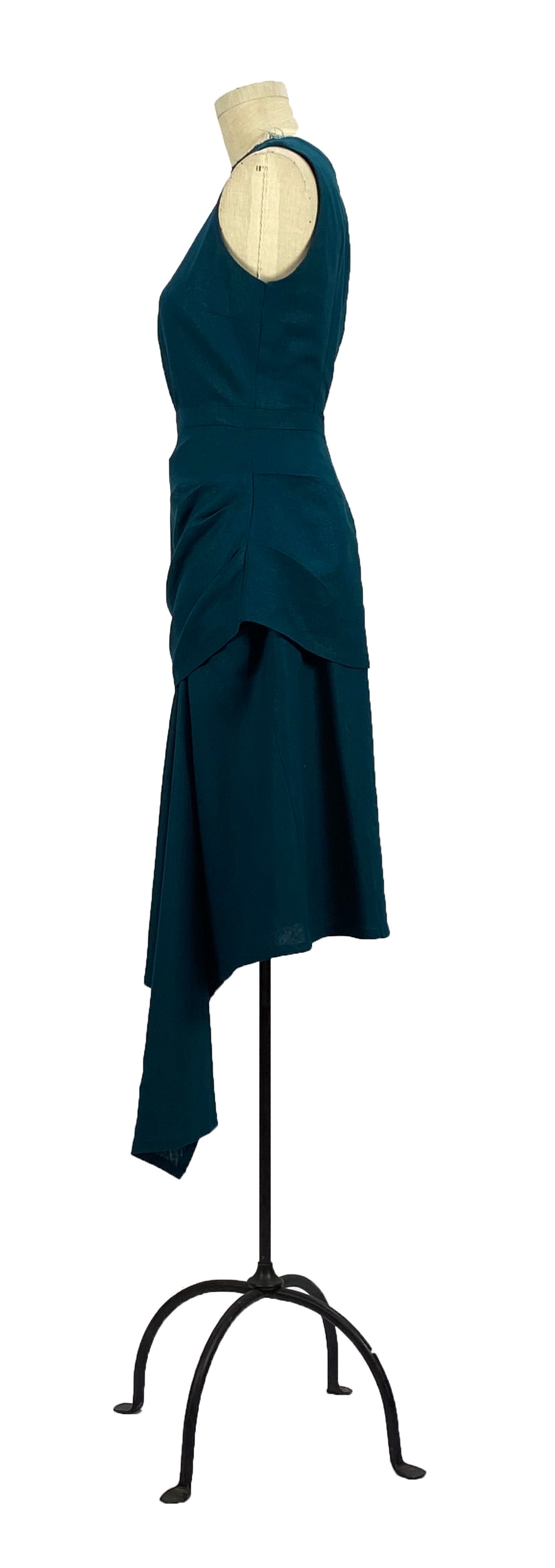 Image of Ronen skirt in teal