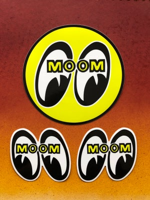 Image of Moomeyes Decal Set
