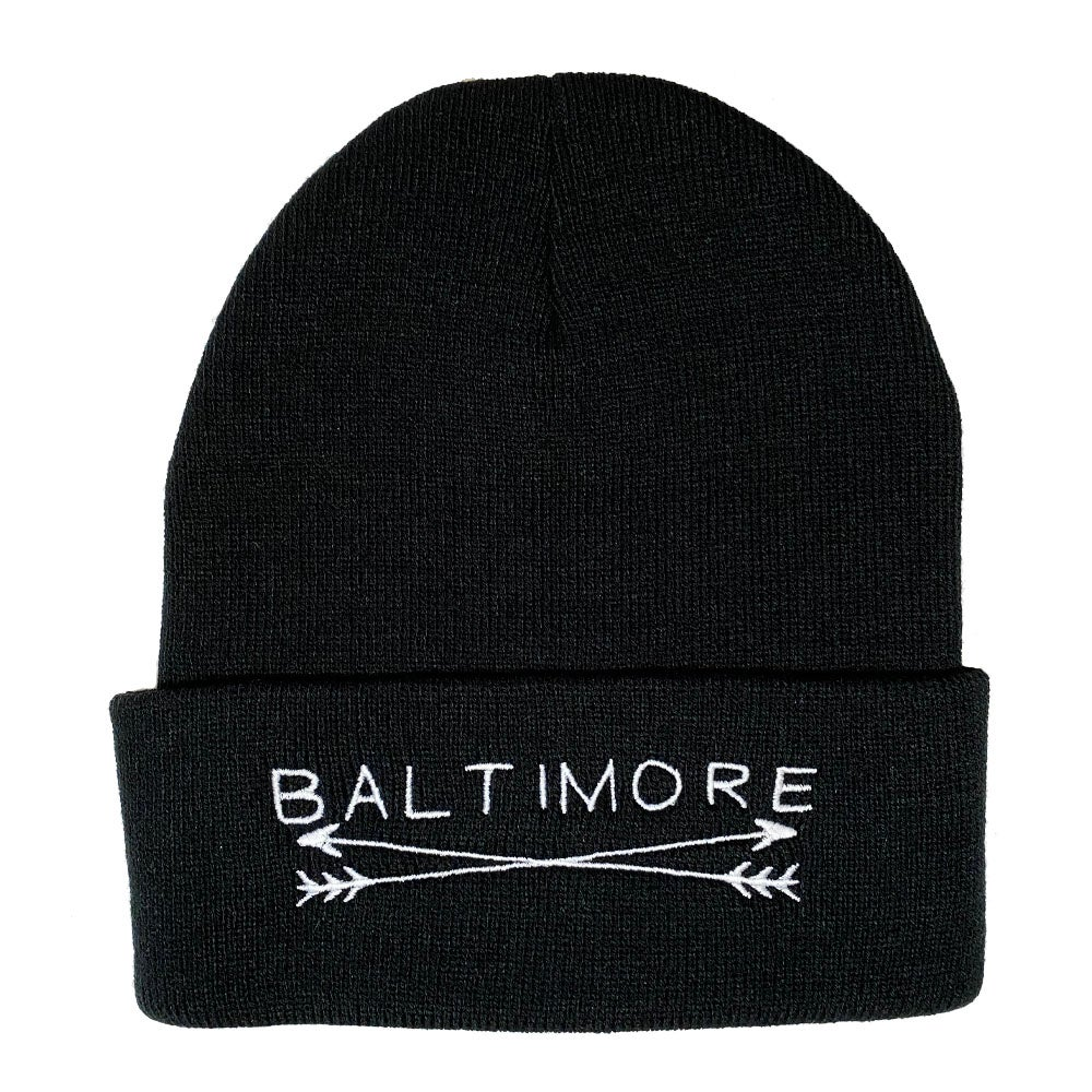 Image of Baltimore Arrows Beanie (Multiple Colors)