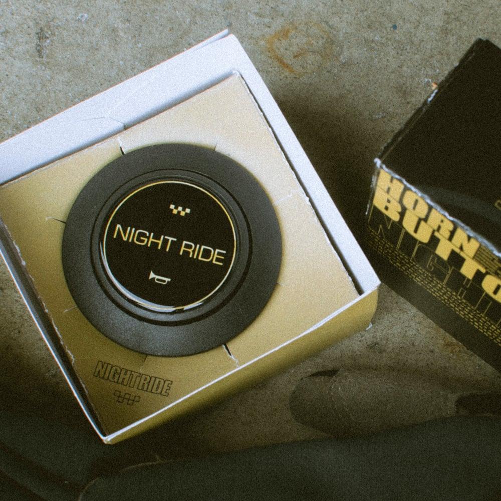 Horn Button - Classic Black