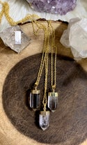 CRYSTAL LONG NECKLACE