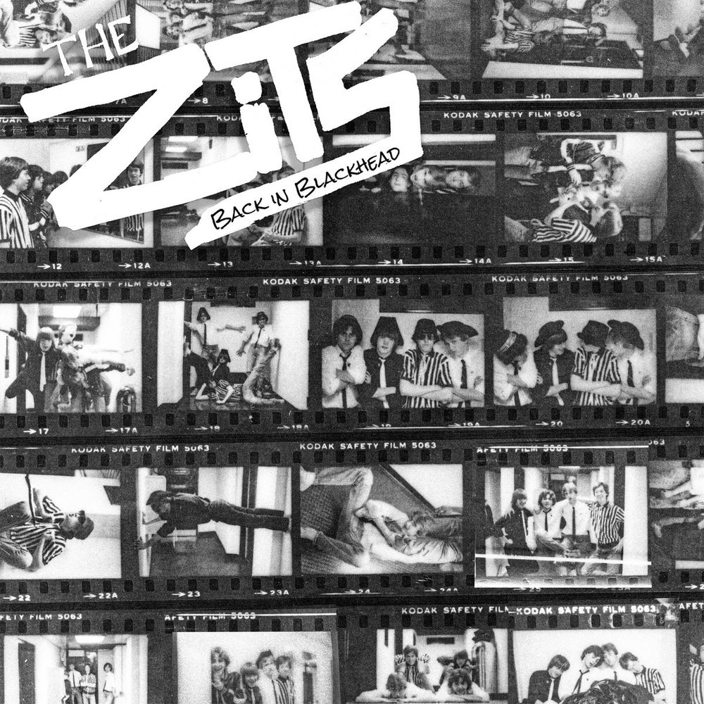 Image of THE ZITS - Back In Blackhead LP