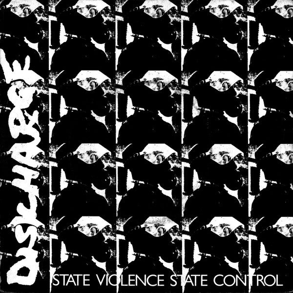 """Image of DISCHARGE - """"State Violence / State Control"""" 7"""" Single"""
