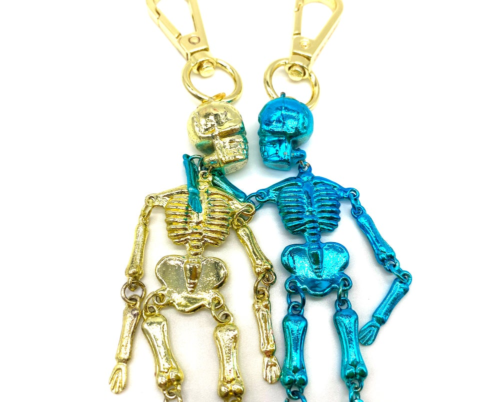 Image of Mr. Skelly Bag Charm Skeleton
