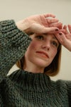 Strathcona Sweater (shown in Ochre)