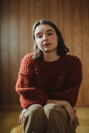 Image of Trefann Sweater (shown in Brick more colours)