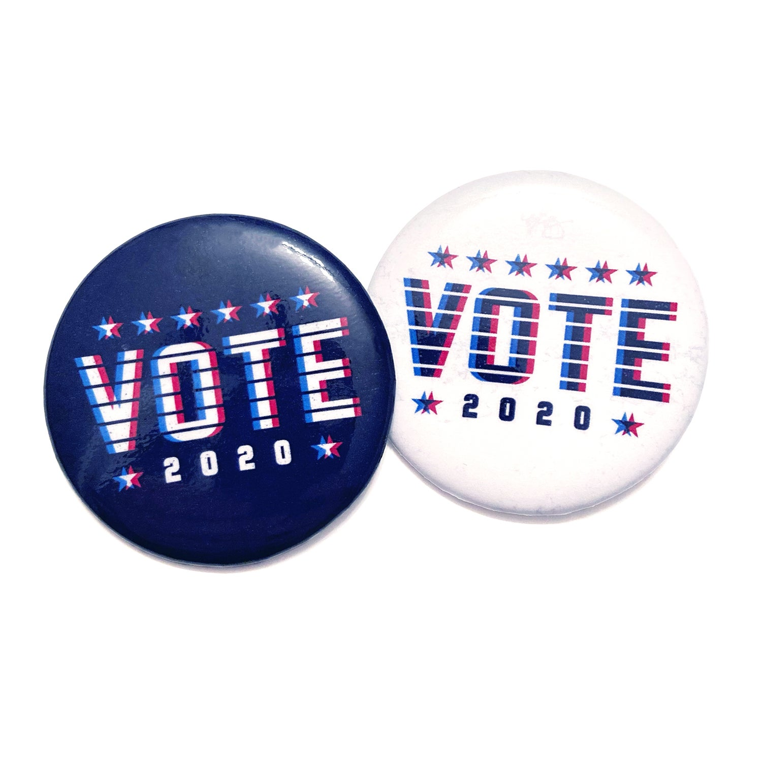 Image of VOTE 2020 - Button Pins (2-Pack)