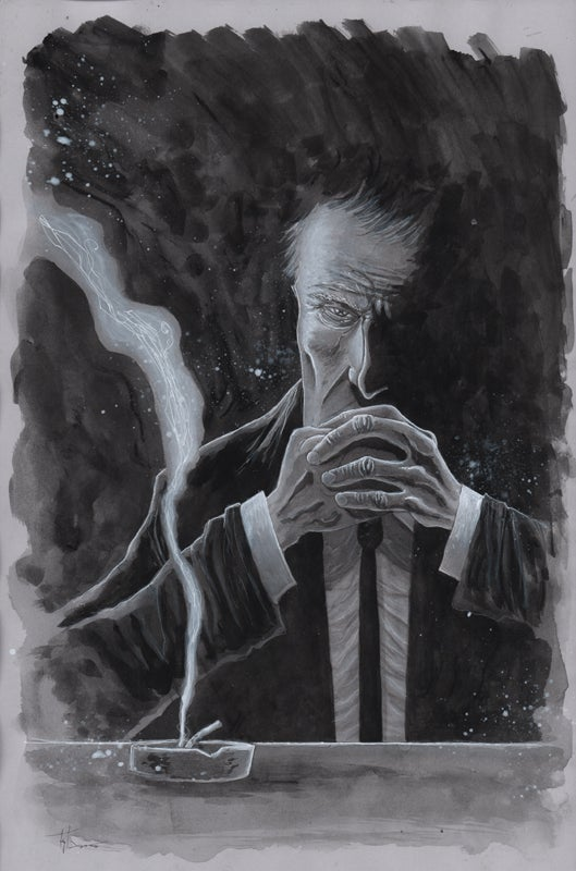 Image of MINISTRY OF TRUTH #1 VARIANT COVER 11x17 PAINTING