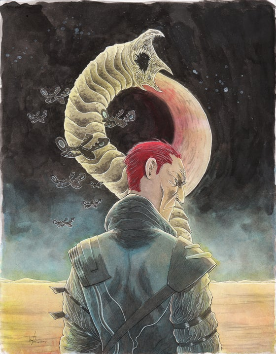 Image of DUNE: HOUSE ATREIDES #1 VARIANT COVER