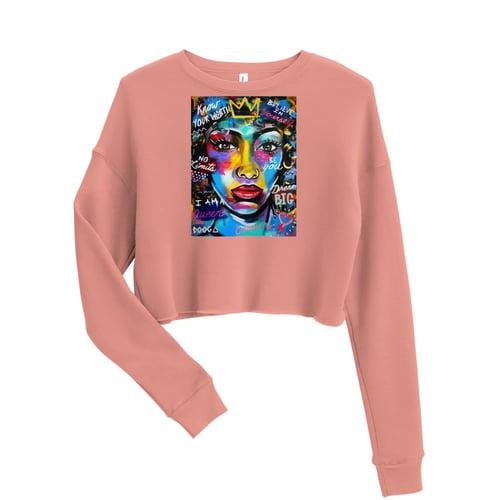 Image of Crop Sweatshirt - Affirmation