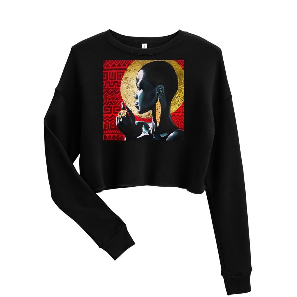 Image of Crop Sweatshirt - Essence