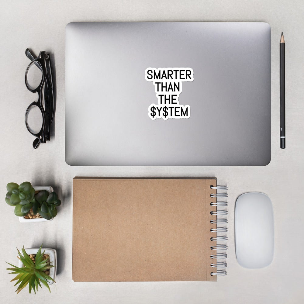 Image of Smarter Than The System Stickers