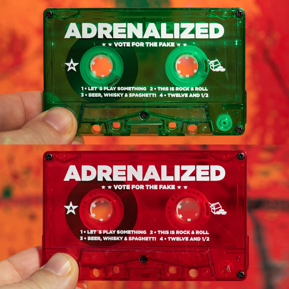 Adrenalized - Vote For The Fake (cassette)