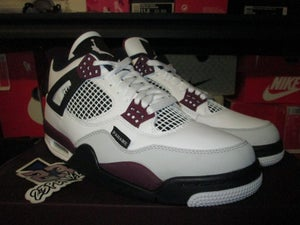 "Image of Air Jordan IV (4) Retro ""Paris Saint-Germain"""