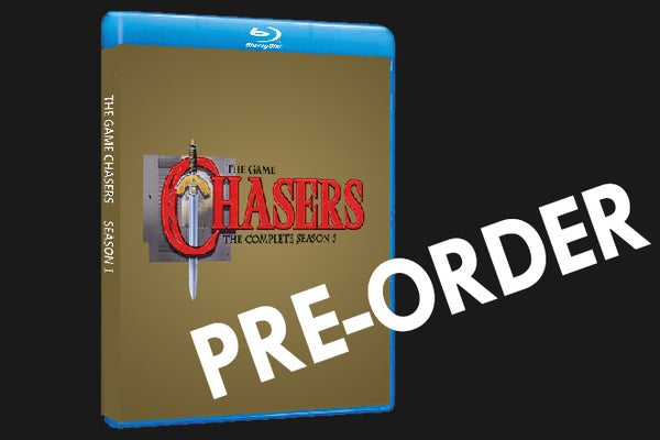 Image of The Game Chasers Season 5 Blu-Ray ( Pre-Order)