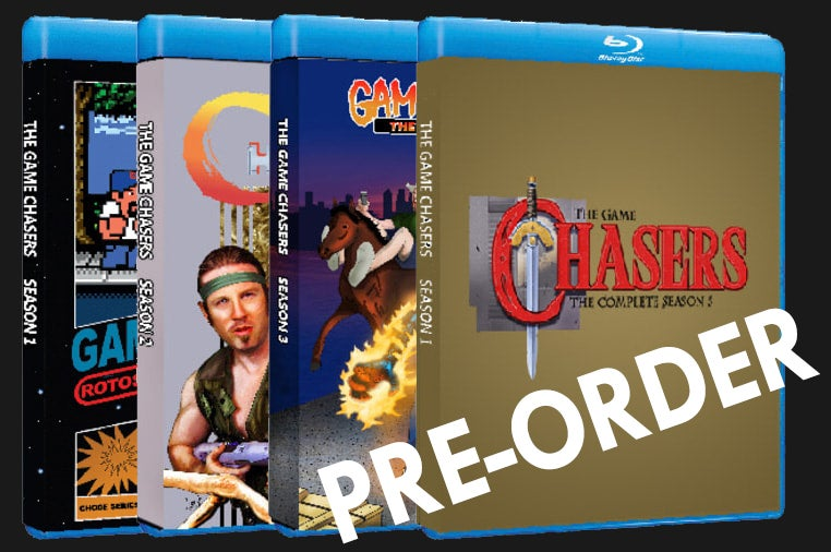 Image of The Game Chasers Seasons 1,2,3 and 5