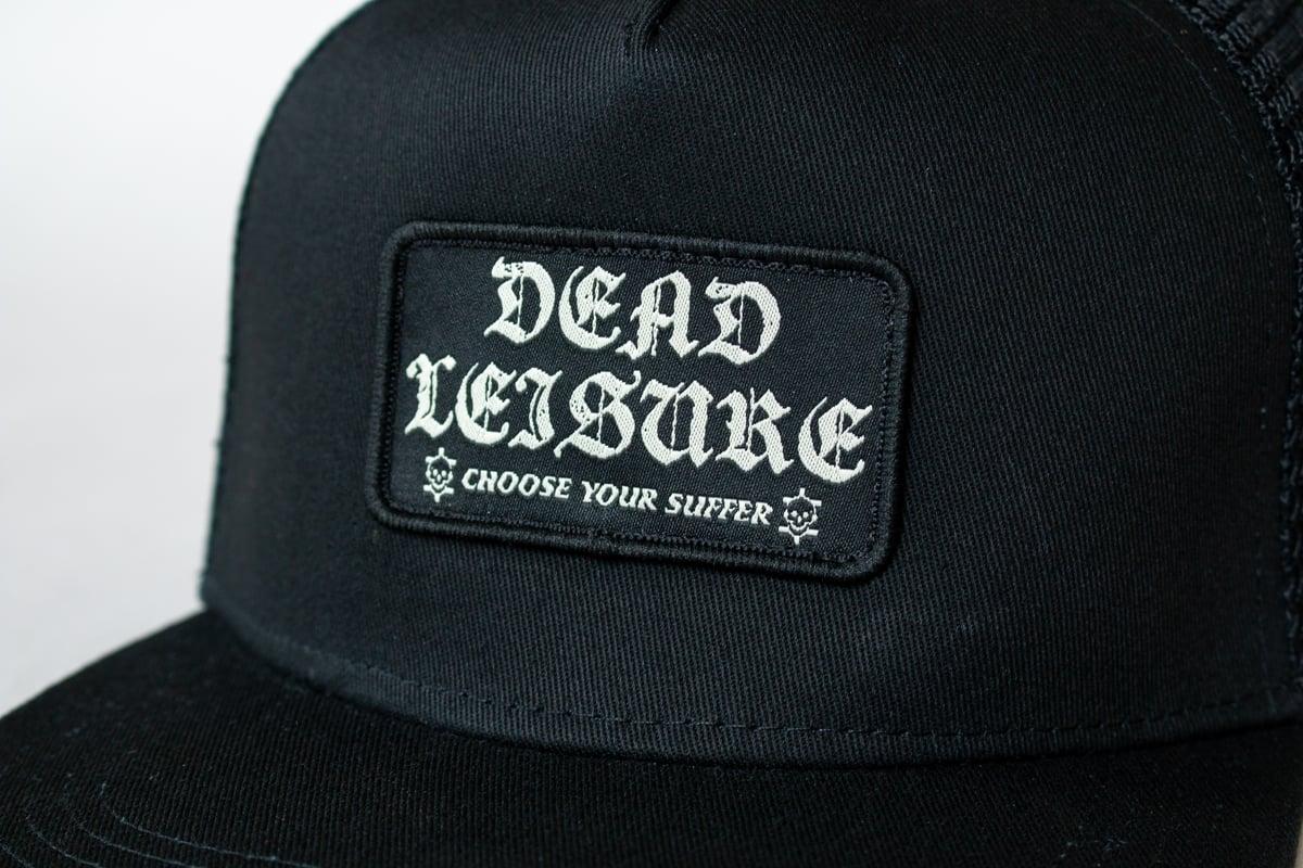 Choose Your Suffer Trucker Hat - Black