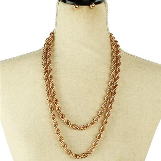 Image of Roxy Rope Chain Set