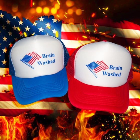 Image of Brain washed trucker hat