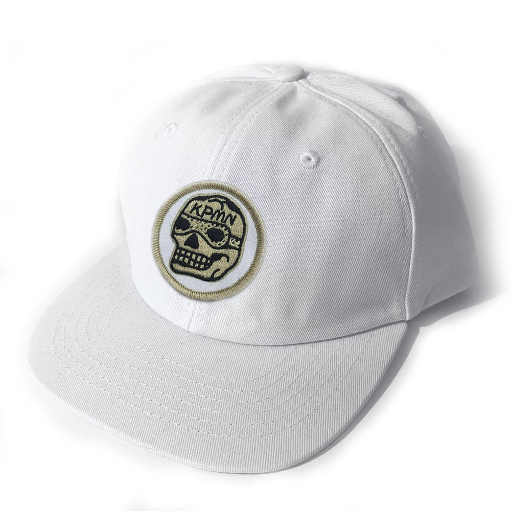 Image of White Patch Cap