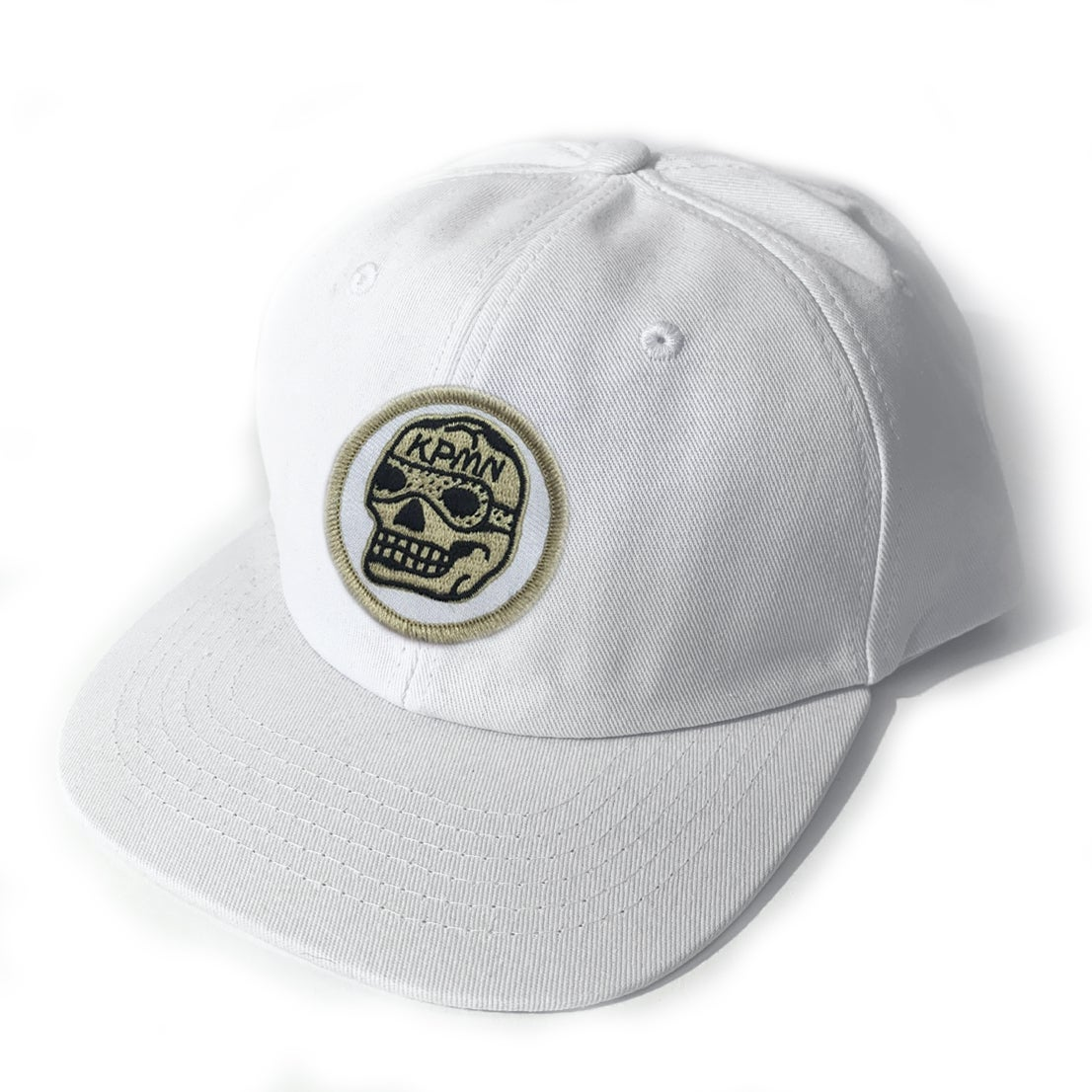 Image of White Patch Cap (PRE SALE)