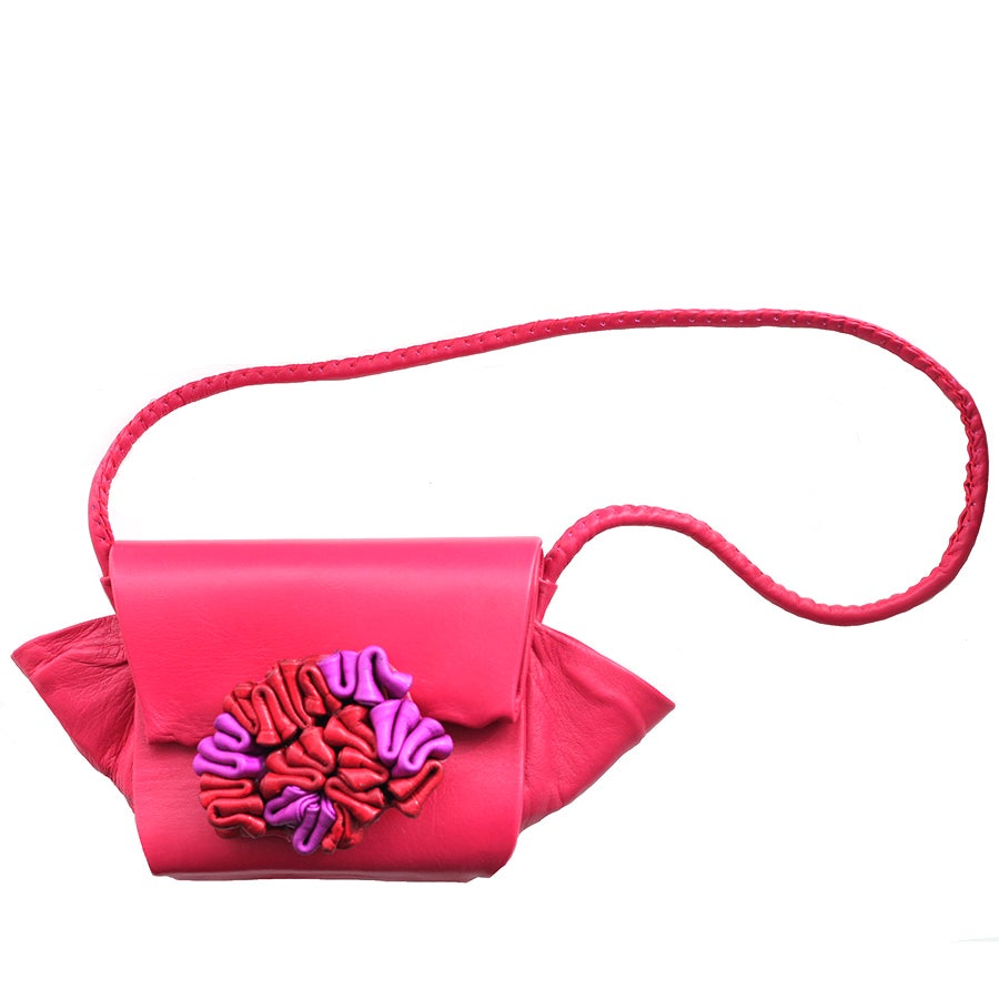 Image of Agbari bag - fuchsia