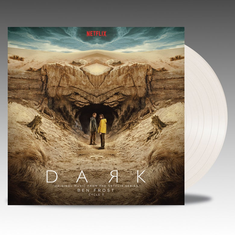 Image of Dark Cycle 3 Original Music From The Netflix Series 'Desert World Sand Vinyl' - Ben Frost