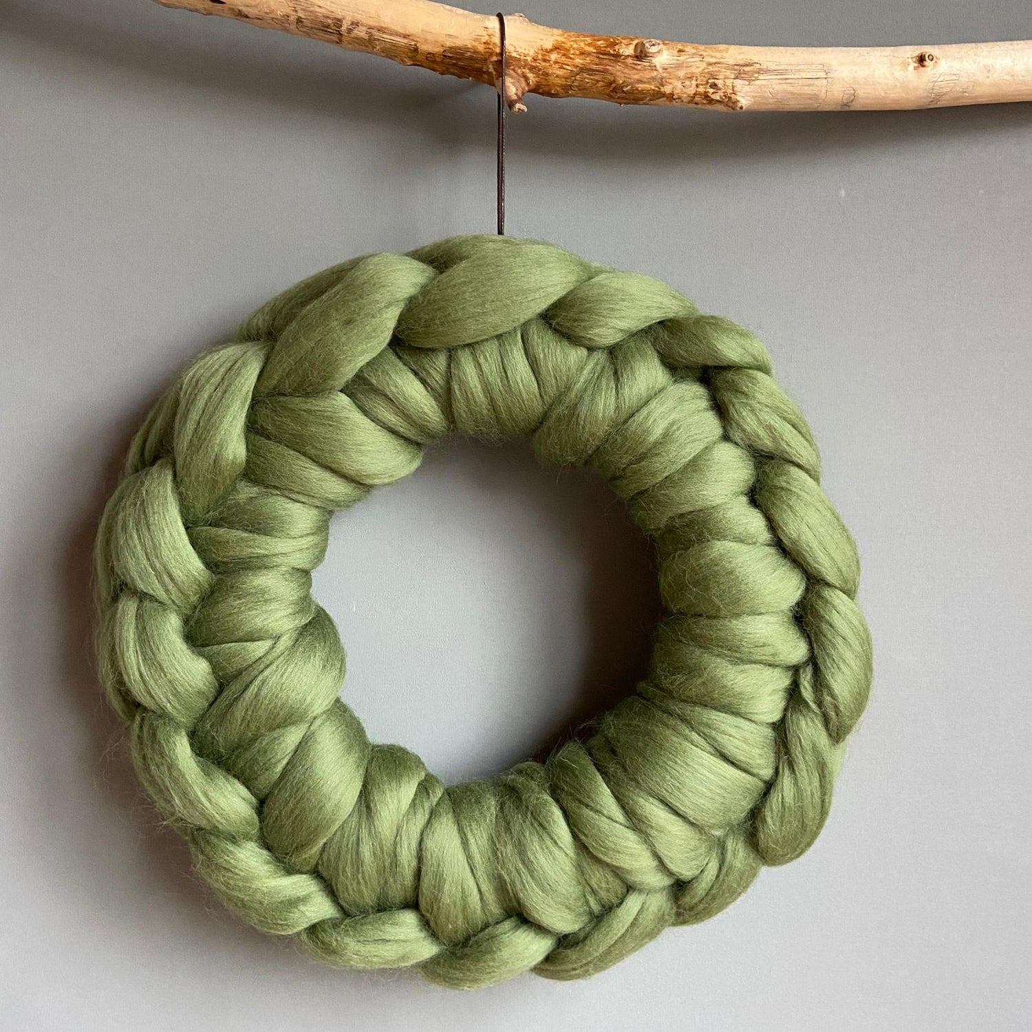 Image of Crocheted wreath