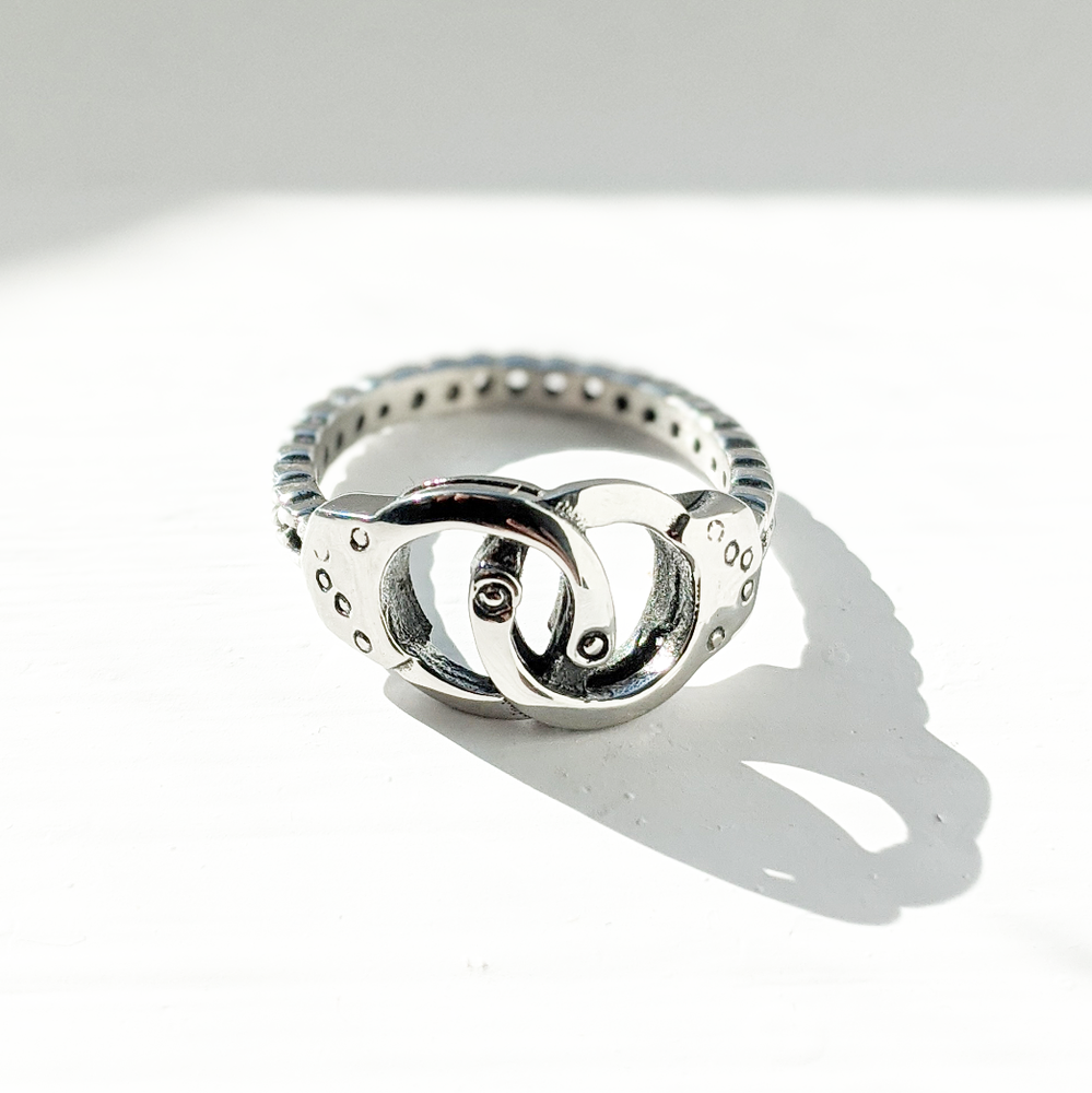Image of Handcuffs Ring