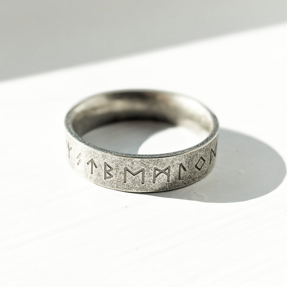 Image of Oxidised Rune Ring